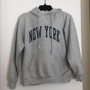 "Brandy melville/John galt ""New York"" hoodie"